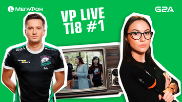 VP Live. Virtus.pro players read comments and are preparing to play against Mineski