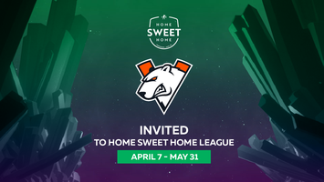 Virtus.pro will take part in #HomeSweetHome series