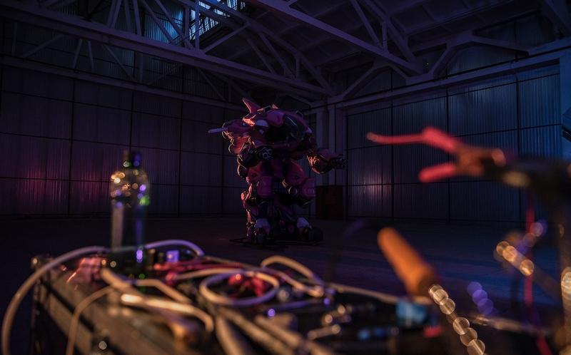 D.Va из Overwatch для «Битвы косплееров». Фото: Сергей Aku Шетухин