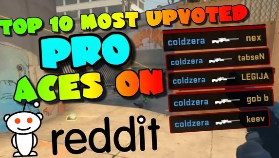 Топ-10 эйсов про-игроков по версии reddit