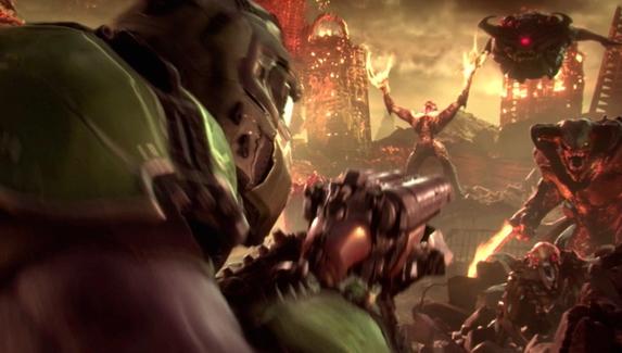 Появился геймплей режима 2v1 для Doom Eternal