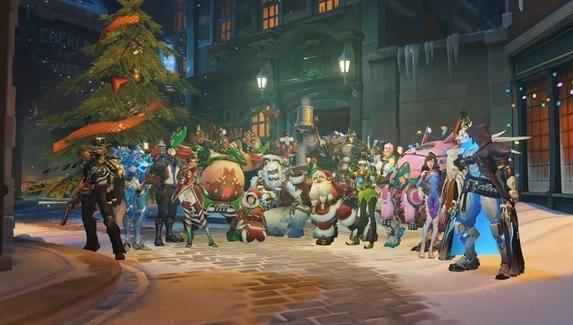 Стала известна дата начала зимнего ивента в Overwatch