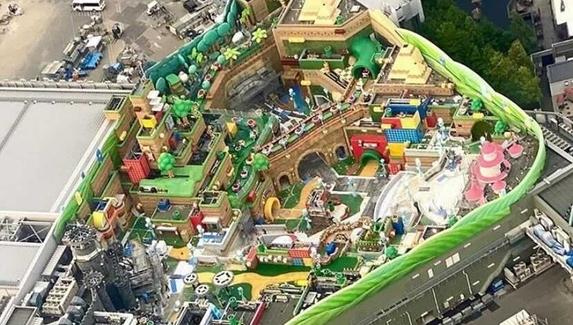 В сеть слили новые фотографии будущего парка развлечений Super Nintendo World