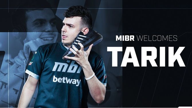 tarik officially joins the ranks of MIBR | News | Cybersport com