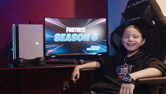 Восьмилетний игрок в Fortnite присоединился к организации Team33