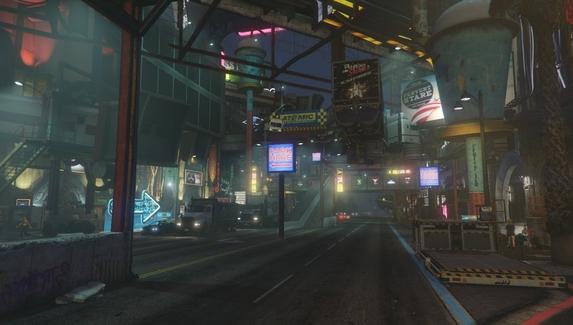Мод для GTA V превратит Лос-Сантос в Найт-Сити из Cyberpunk 2077