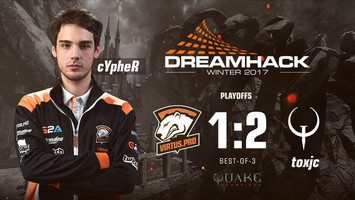 Cypher claims the 3-4 place in DreamHack Winter 2017