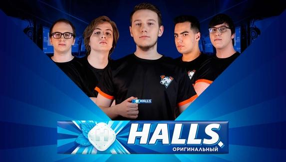 Virtus.pro и бренд Halls стали партнерами