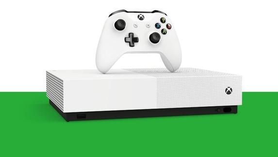 Бездисковая Xbox One S будет стоить 19 тыс. рублей