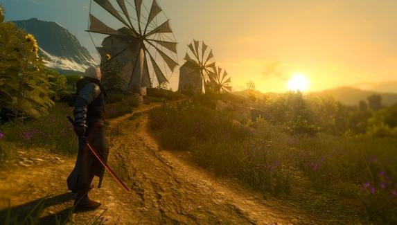 В The Witcher 3 добавили катану из Cyberpunk 2077