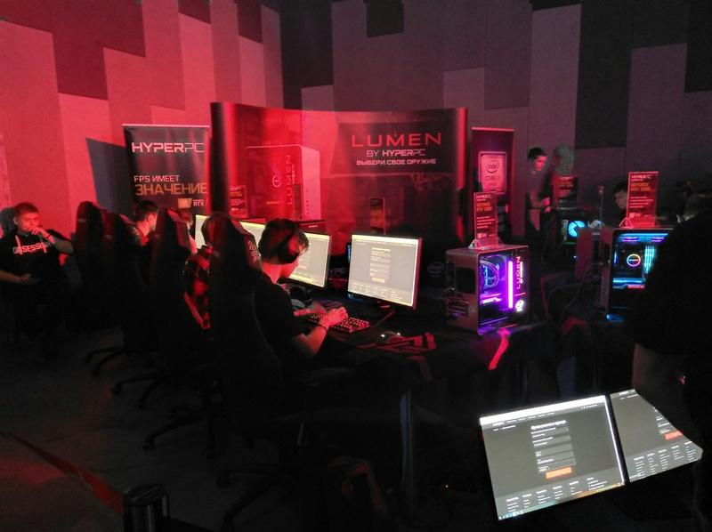 Стенд HyperPC и соревнование по «Варфейсу»