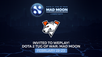 Virtus.pro will play in WePlay! Dota 2 Tug of War: Mad Moon