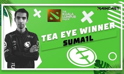 SumaiL сыграл в викторине Tea Eye Winner от Maincast