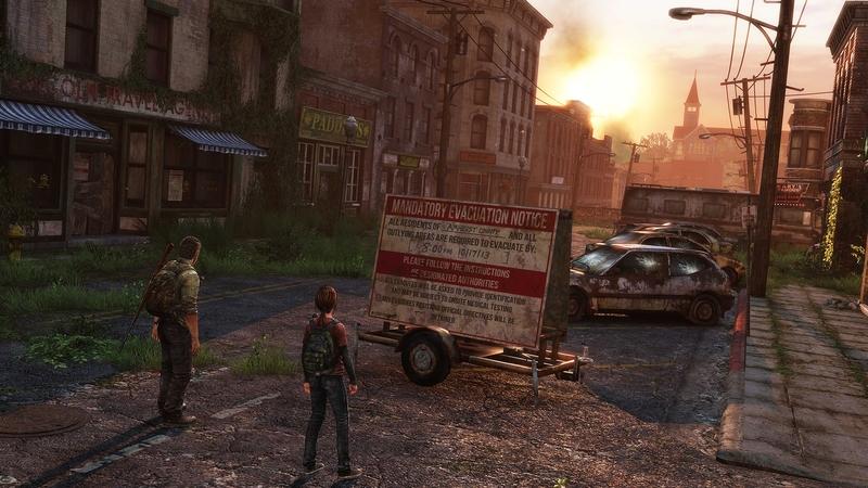 Кадр из игры The Last of Us