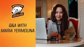 Virtus.pro на The Kiev Major: Вопросы и ответы с Марией Ермолиной