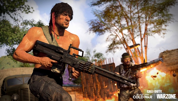 Авторы Call of Duty показали трейлер кроссовера с «Рэмбо» и «Крепким орешком»