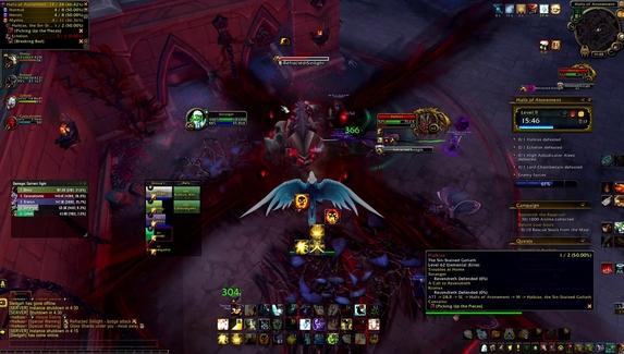 Фанат World of Warcraft превратил в мем баг из подземелья Shadowlands