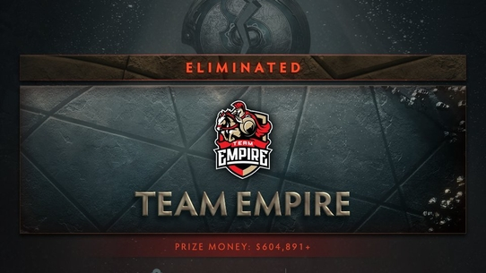 Team Empire, занявшие топ-8 на The International 2017. Где они сейчас?