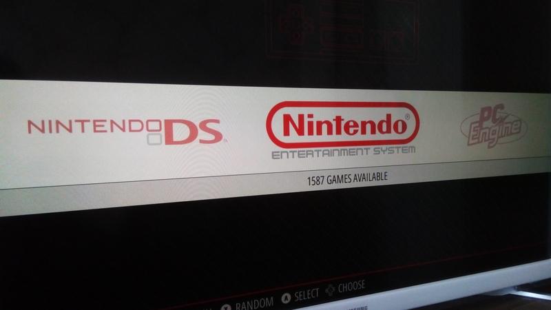 Nindendo DS, NES, PC Engine