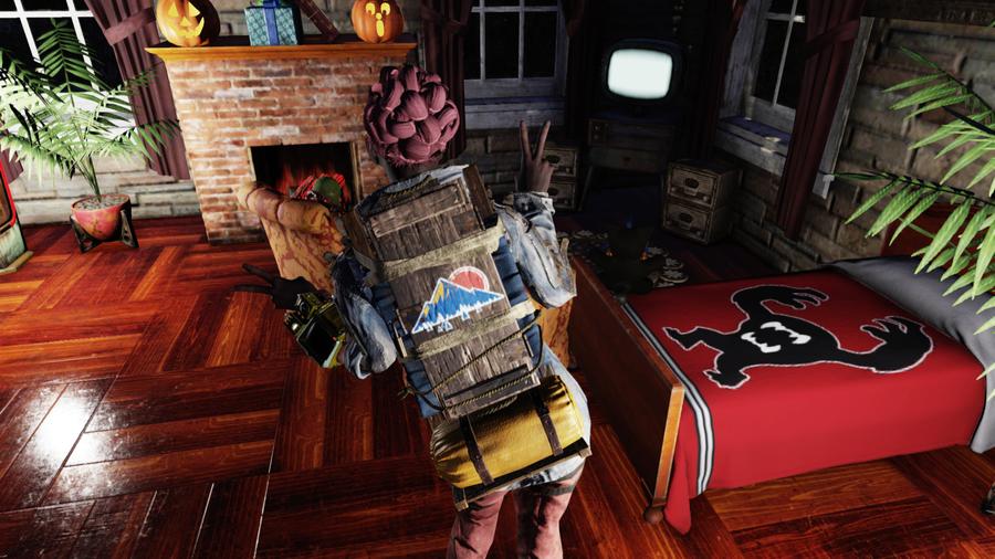 """Fallout 76: рюкзак """"Блю ридж караван"""""""