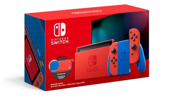 Nintendo выпустит красно-синюю Switch