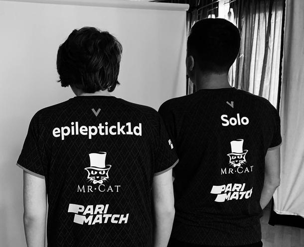 Solo и epileptick1d. Фото: Virtus.pro, инстаграм Solo