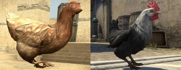 Старая и новая курица в CS:GO