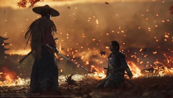 Первая скидка на Ghost of Tsushima — в PS Store началась распродажа игр поколения