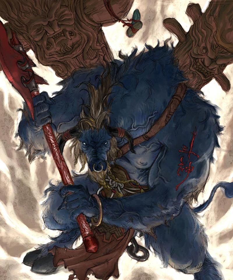 Ранний арт Kunkka: Вождь тауренов из Warcraft 3 (2003)