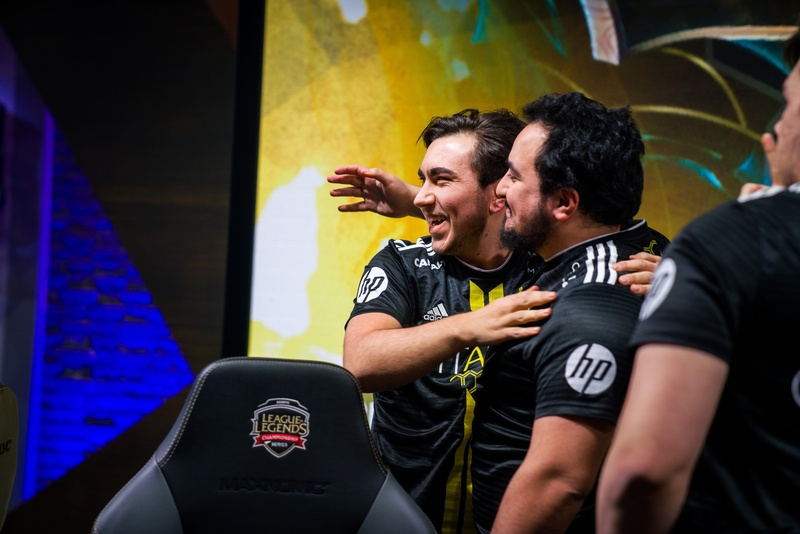 Gilius has matured as a teammate, reaching new success with Vitality   Photo by LoL Esports