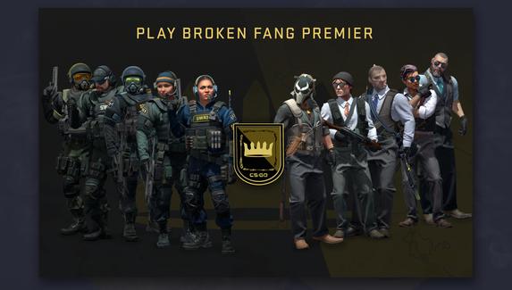 Broken Fang Premier в CS:GO стал доступен всем игрокам