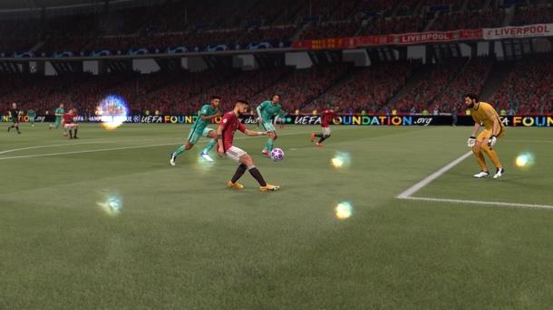 Бруну Фернандеш делает голевой пас в FIFA 21