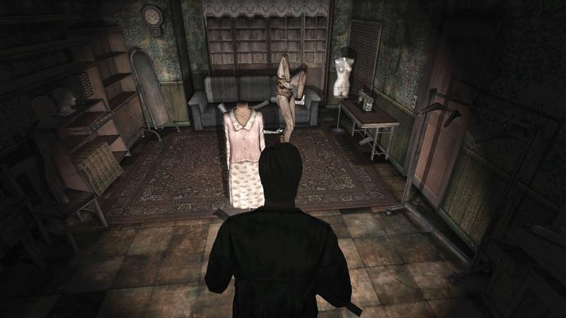 Манекен в Silent Hill 2