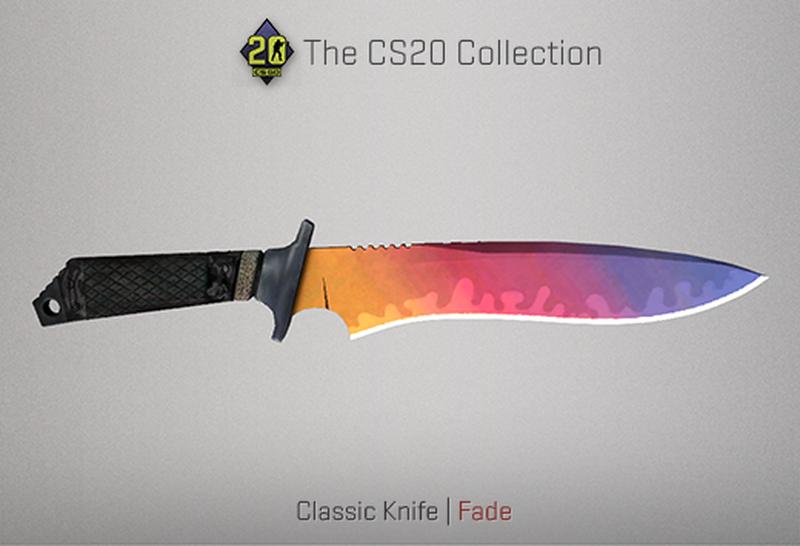 Скин Classic Knife | Источник: blog.counter-strike.net