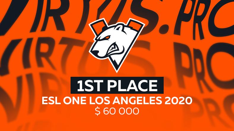 Virtus.pro wins ESL One Los Angeles 2020 Online: Europe & CIS ...