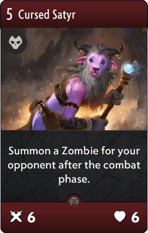 Cursed Satyr