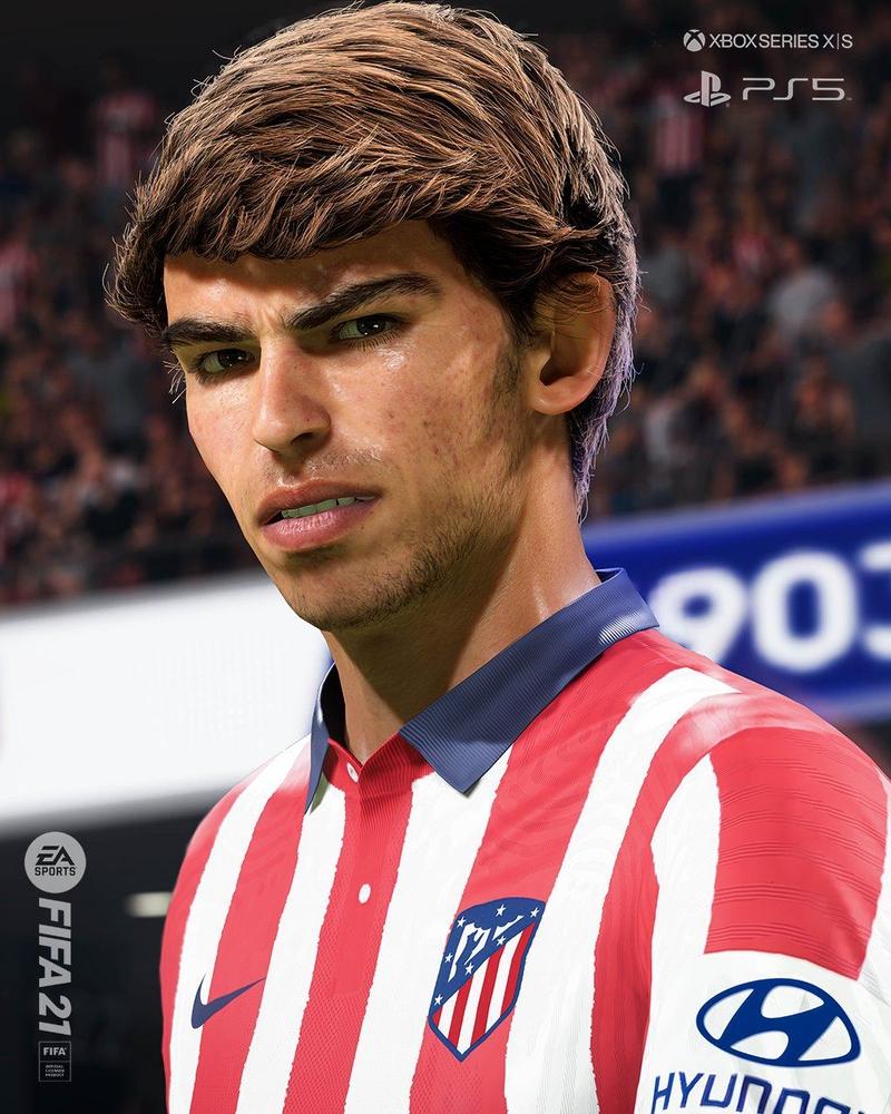 Жоао Феликс в FIFA 21 для PS5