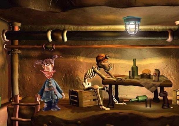 Скриншот из игры «Падал прошлогодний снег»