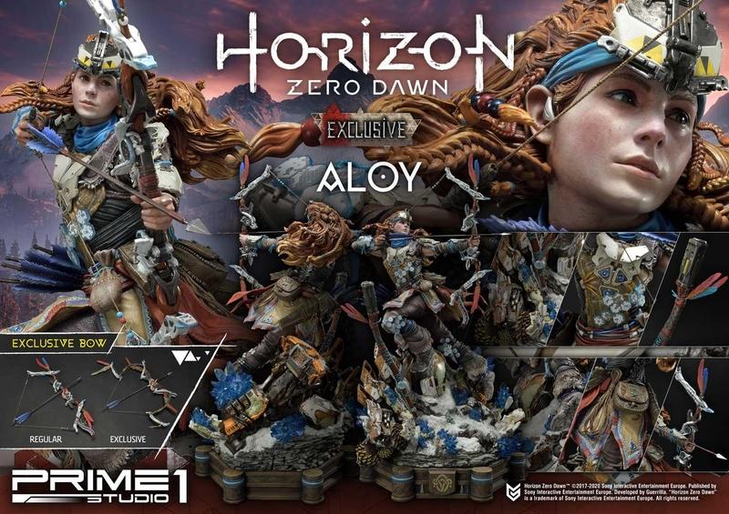 Статуэтка Элой из Horizon Zero Dawn. Источник: Prime 1 Studio