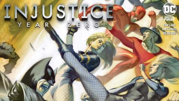 Анонсирован комикс-приквел Injustice: Gods Among Us