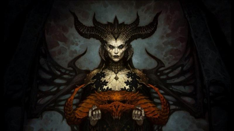 Арт Lilith от Blizzard.
