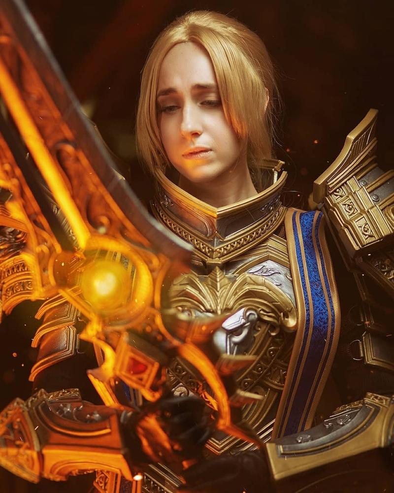 Косплей на Андуина Ринна из World of Warcraft. Источник: instagram.com/ashleyoshley/