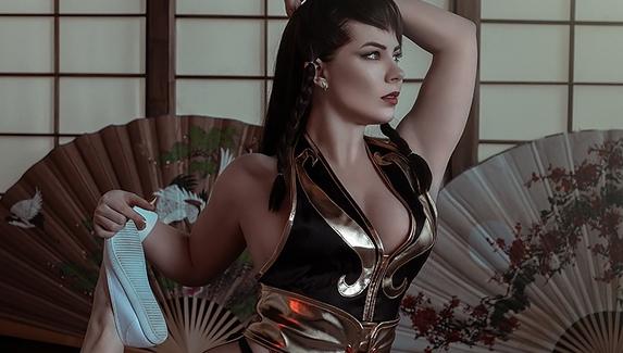 Сексуальный агент Интерпола — косплей на Чунь Ли из Street Fighter