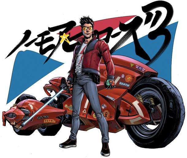 Иллюстрация Дэрика Робертсона для No More Heroes 3 | Источник: suda51 / twitter.com