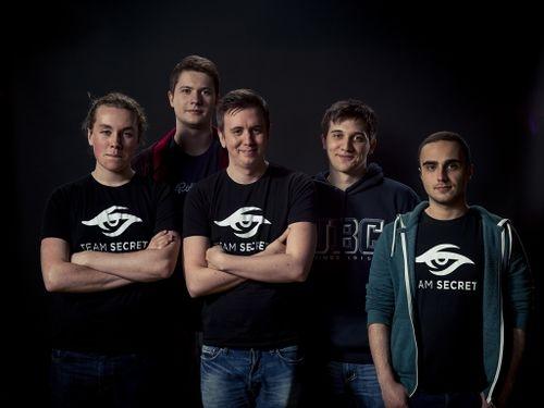 Первый состав Team Secret