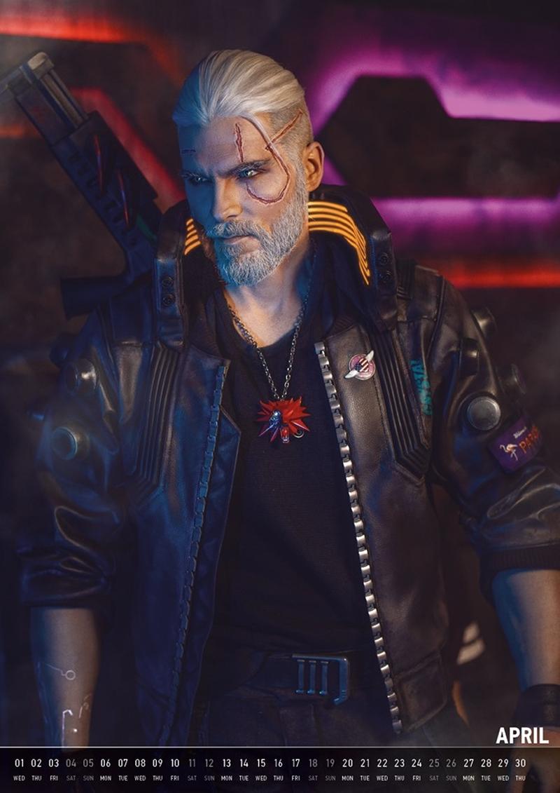Геральт из Cyberpunk 2077. Источник: maul-cosplay.com