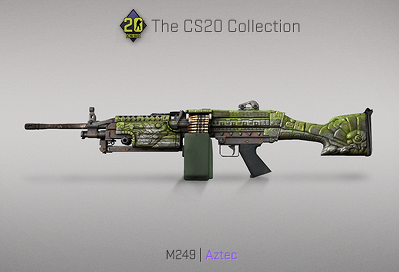 Скин на M249 | Источник: blog.counter-strike.net