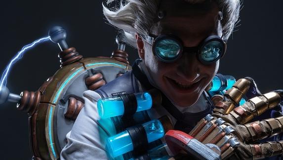Безумный и гениальный Крысенштейн — косплей на персонажа из Overwatch