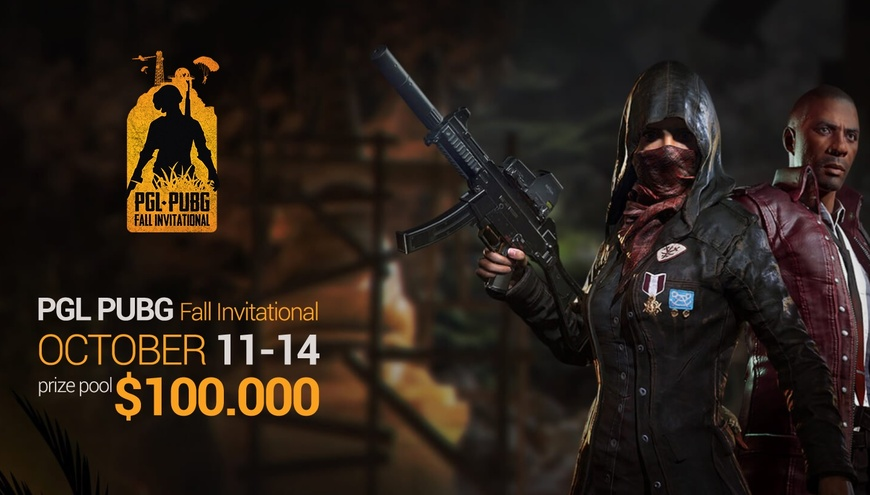 $100,000 PGL PUBG Fall Invitational to come in October