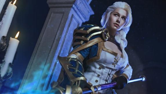 Гордая леди — косплей на Джайну Праудмур из World of Warcraft